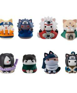 Naruto Shippuden Nyaruto! Trading Figure 3 cm Come Here Sasuke-kun Assortment (8)