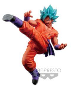Dragonball Super Son Goku Fes PVC Statue Super Saiyan God Super Saiyan Son Goku 19 cm