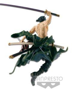 One Piece BWFC Vol. 1 Figure Roronoa Zoro by Noriyuki Yamaguchi 16 cm