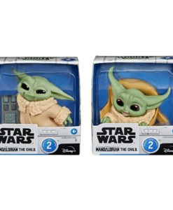 Star Wars Mandalorian Bounty Collection Figure 2-Pack The Child Speeder Ride & Touching Buttons