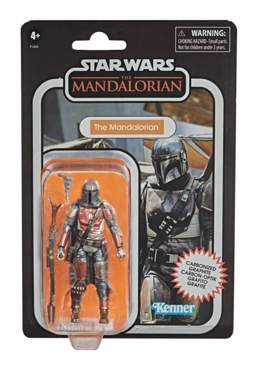 Star Wars The Mandalorian Vintage Collection Carbonized Action Figure 2020 The Mandalorian 10 cm
