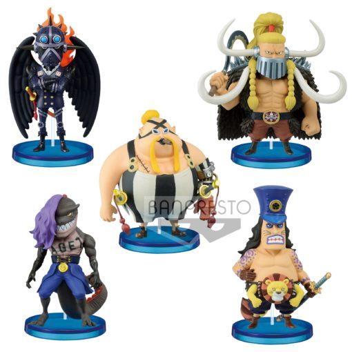 One Piece WCF ChiBi PVC Statues 7 cm Assortment Beasts Pirates 1 (12)