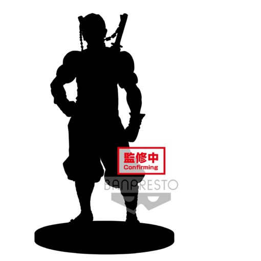 Demon Slayer Kimetsu no Yaiba PVC Statue Tengen Uzui Sepia Color Version 18 cm