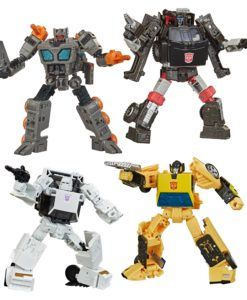 Transformers Generations War for Cybertron: Earthrise Action Figures Deluxe 2020 W3 Assortment (8)