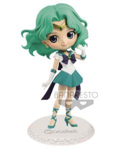 Sailor Moon Eternal The Movie Q Posket Mini Figure Super Sailor Neptune Ver. A 14 cm