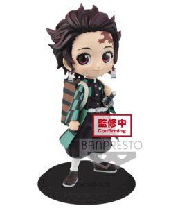 Demon Slayer Kimetsu no Yaiba Q Posket Mini Figure Tanjiro Kamado II Ver. A 14 cm