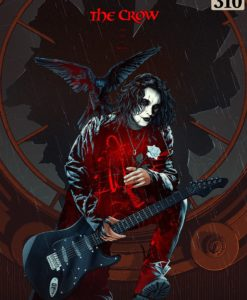 The Crow Art Print Real Love Is Forever 46 x 61 cm - unframed