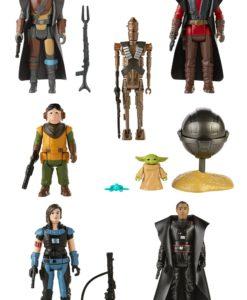 Star Wars The Mandalorian Retro Collection Action Figures 10 cm Assortment 2021 (8)