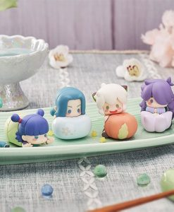 The Legend of Hei Mini Figures 6-Pack Wagashi 5 - 7 cm