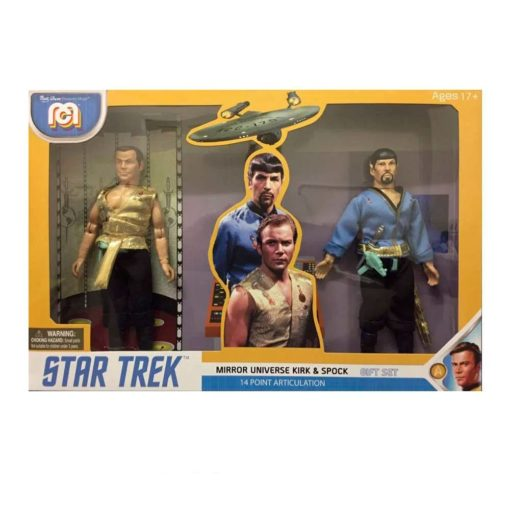 Star Trek Action Figures 2-Pack Mirror Universe Spock & Kirk 20 cm
